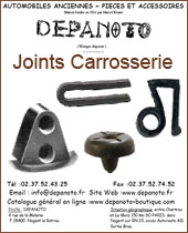 Joints de carrosserie Depanoto