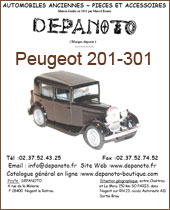 Catalogue Peugeot 201-301