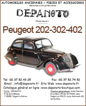 Catalogue Peugeot 202-302-402