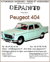 Catalogue Peugeot 404