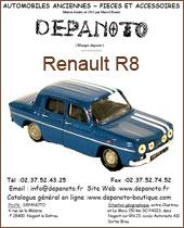 Catalogue Renault R8