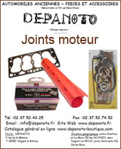Catalogue Joints moteur Depanoto