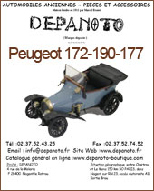 Catalogue Peugeot 172-190-177