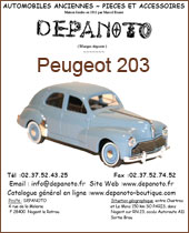 Catalogue Peugeot 203
