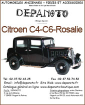 Catalogue Citroen C4 Rosalie