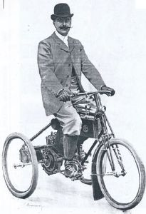 DE DION BOUTON Mototricycle Types 4 & C