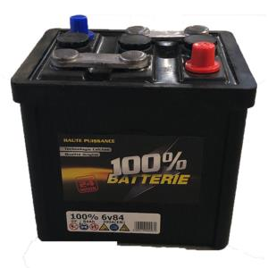 Batterie 6 Volts 84Ah (100% Batterie)