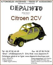 citroen 2cv pieces