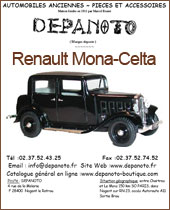 Catalogue Renault MONA CELTA