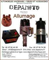 Catalogue Allumage Depanoto