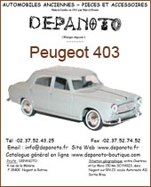 Catalogue Peugeot 403