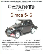 Catalogue Simca5 et Simca6