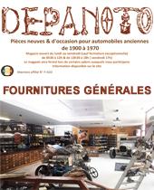 capture offres exclusives beau DEPANOTO - Pièces et accessoires pour voitures anciennes ...