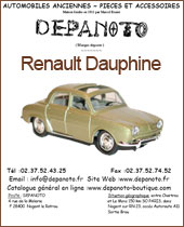 Catalogue Renault Dauphine