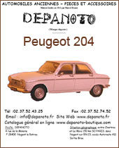 Catalogue Peugeot 204